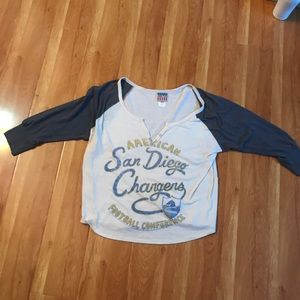 San Diego chargers shirt
